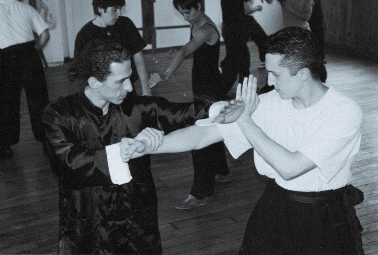sifu-didier-beddar-et-stephane-serror-juillet-1998-wing-chun-kung-fu-adwct-paris-toulouse